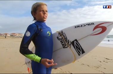 Kyllian Guerin, Français de 12 ans, signe avec REEF