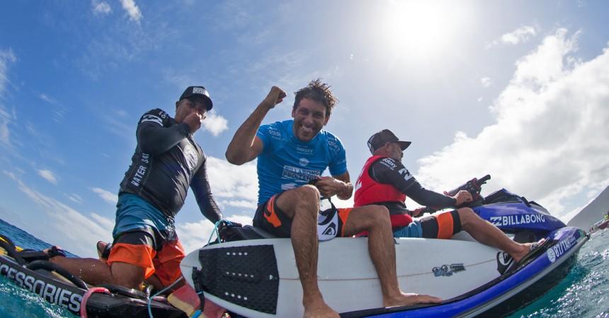 Retour sur Jeremy Florès gagnant du Billabong Tahiti Pro vu par Nico