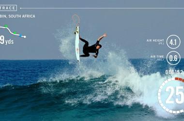 Objet connecté Trace : Traquez votre session de surf