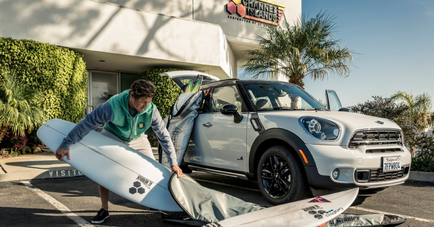 The MINI : La nouvelle board de Channel Island et Kalani Robb