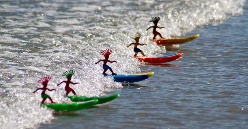 Surfeur miniature «Surfer Dudes», le jeu de l'année ?